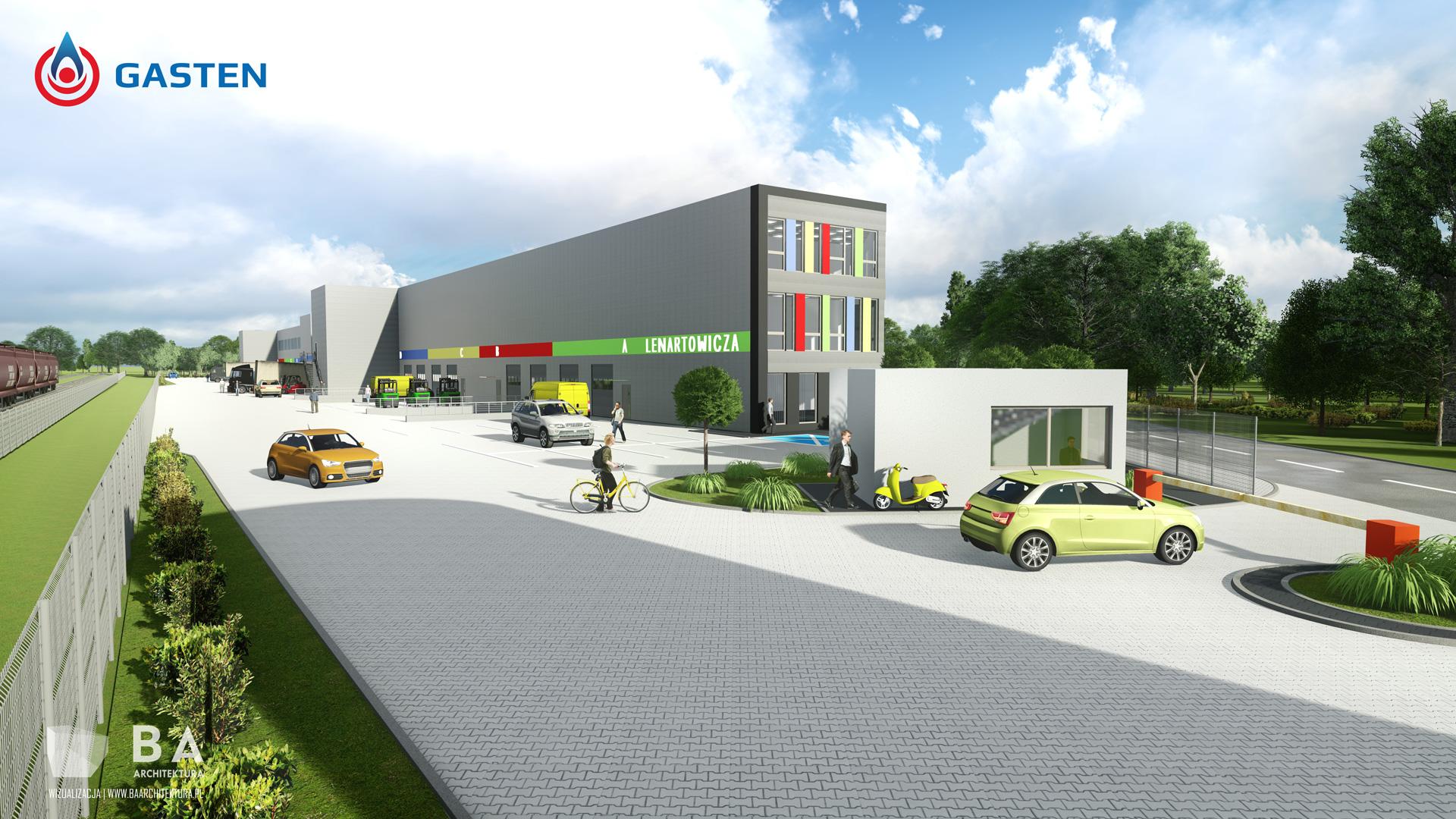 Bałtyckie Centrum Lipiński wizualizacja - BCL